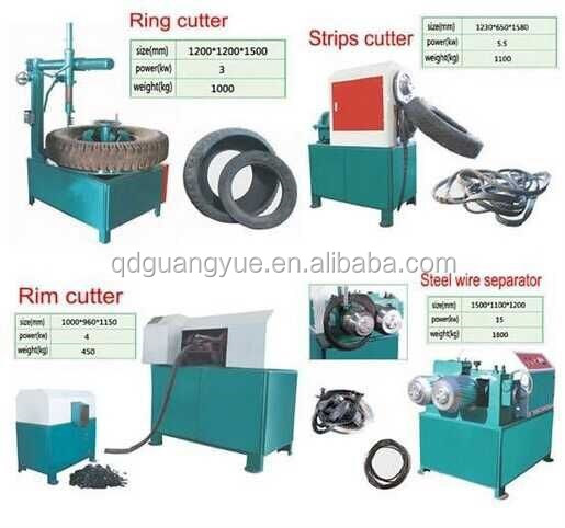 tire cutter machine