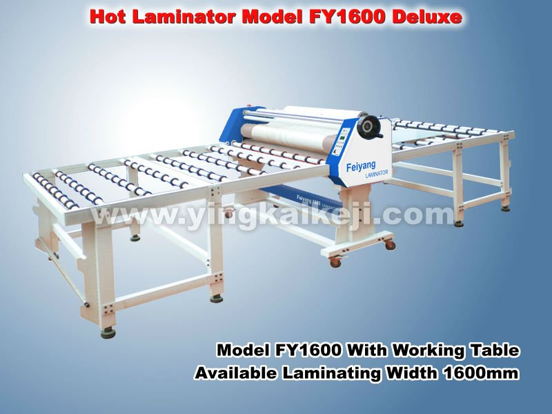 The thermal glass laminator 1600