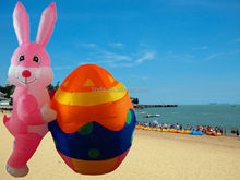 Easter Inflatable Bunny/air blown Easter Rabbit/Easter gift toy