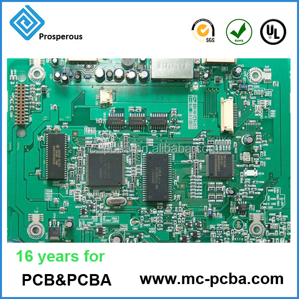 Shenzhen professional electronic pcb pcba manufacturing provide one stop service