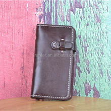 Customized OEM Waterproof Case For iPhone Wallet Flip Leather Case for iPhone 3gs