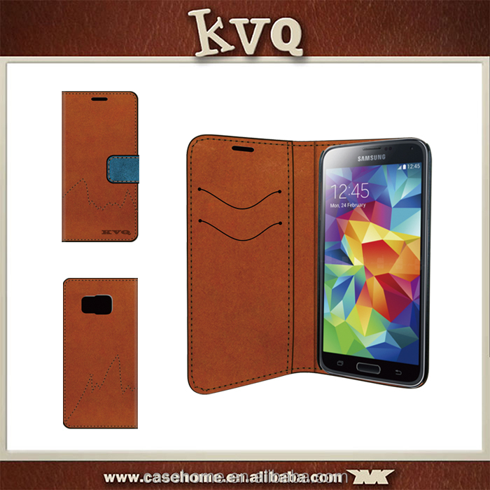 Shenzhen KVQ factory exclusive design Luxury Jeans wallet case for Blackberry Passport silver edition
