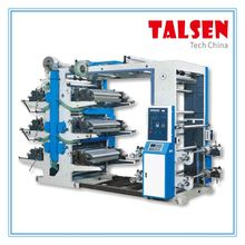 High Quality Non woven Roll central drum flexo printing machine/mini flexographic printing