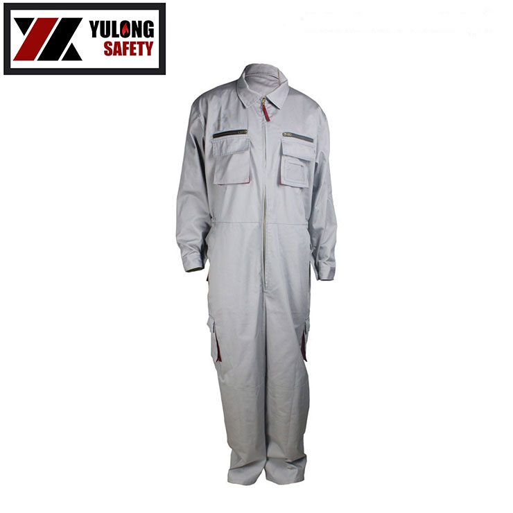 Hot Wholesale Factory Manufacturing EN11612 Cotton Flame Resistant Summer Coverall