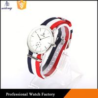 2016 new fashion Stainless Steel Chain Wrist Lady Fashion Band Men Watch