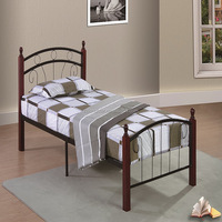 Hot selling low price bedroom furniture models Twin bed