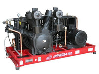 40BAR Big red air compressor for PET Blowing