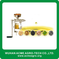 Wholesale price supply homemade oil press small manual oil press