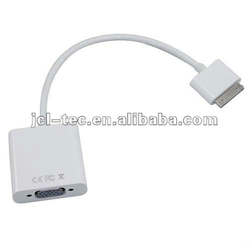 FOR iPad Dock Connector to VGA Adapter cable