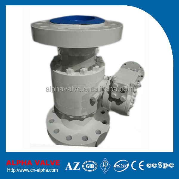 Fire Safe Full Bore Flanged Ball Valve