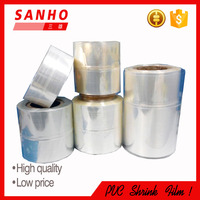 100% New Condition Clear PVC Shrink Film for Package in Roll