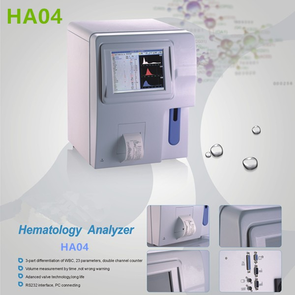 Fully automatic hematology analyzer HA04-1