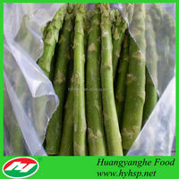 IQF Frozen Green Asparagus From China