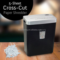 office strip cut croos cut a4 paper shredder