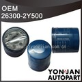 Highly Quality Auto Car Parts Oil Filter 26300-2Y500