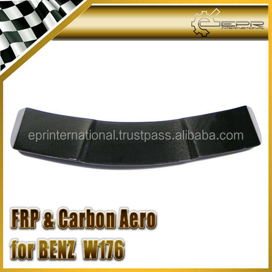 For Mercedes Benz W176 A45 A220 A250 A260 A-Class AMG REVO Style RZA290 Carbon Fiber Rear Spoiler