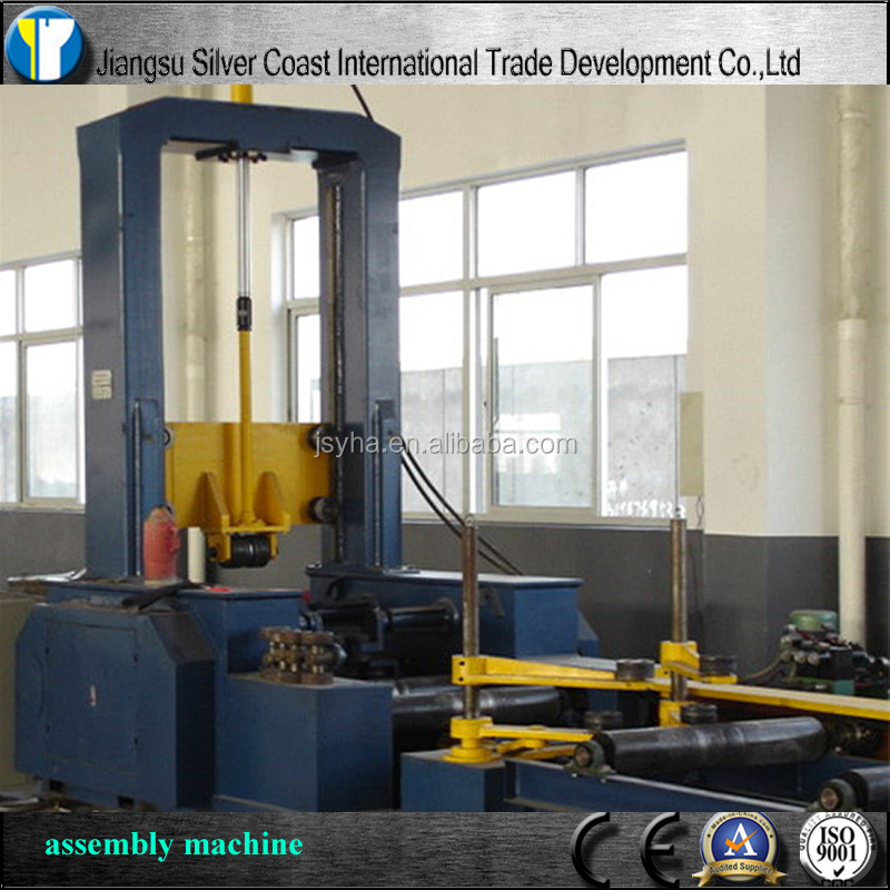 H Beam Submerged Arc Welding Line Automatic Assembly Equipment