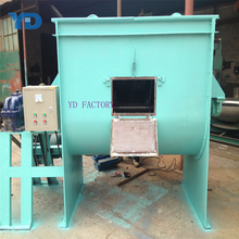 Large Capacity Horizontal Plastic Mixer