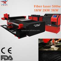 2000W Metal Sheet Fiber Laser Cutting Machine for cooking tools