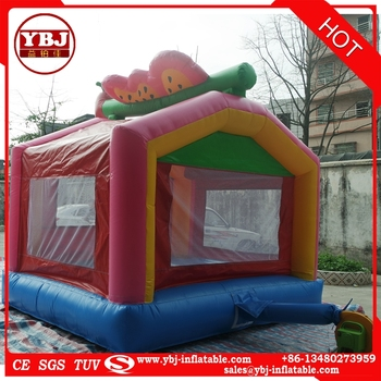 2017 Kids commercial and residential inflatable bouncy castles/ cheap inflatable bouncer