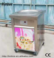 Hot sale instant ice cream fry ice cream machine