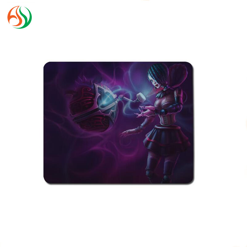 AY Promotional Advertising Printable Rubber Fabric Mouse Pad