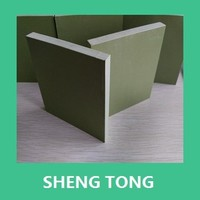 high impact strength Transparent Colorful Plastical PVC board/polyvinyl chloride hard sheet