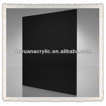 6mm acrylic black mirror plexiglass sheets