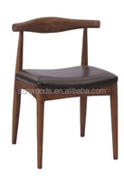 Modern stack able modern fabric ring back high chair gold bar stool