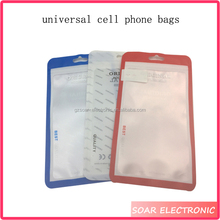 Wholesale New design universal mobile phone case plastic bags,cheap price cell phone case bags