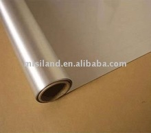 Roll size inkjet silk gold silver film&metallic photo paper 125um for wide format inkjet printer