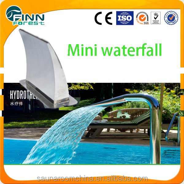 Outdoor indoor decoratie blad zwembad zwembad waterval douche pool accessoires product id - Outdoor decoratie zwembad ...