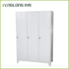 Factory direct modern bedroom furniture godrej almirah design cloth hanging cabinet metal storage wardobe locker