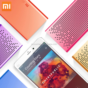 2017 New Original Xiaomi Mi Bluetooth Speaker Portable Wireless Mini Square Box Bluetooth 4.0 Speaker for IPhone and Android