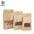 Biodegradable Kraft Paper Aluminum Foil Food Packaging Pouch