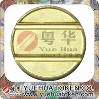 High end handmade cash box coin slot token