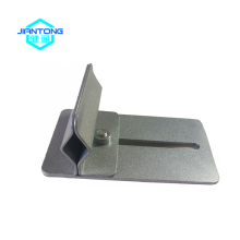 custom sheet metal thin stamping part aluminum laser cutting