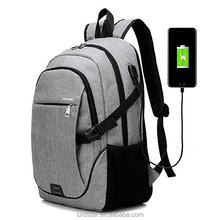 2017 poly canvas Classical Casual Laptop Backpack for College Vintage Backpack School Bookbag