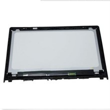 LCD glass screen bezel for Toshiba L50T touch digitizer