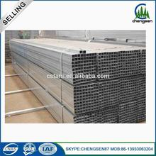Free samples galvanized square steel tube for construction material