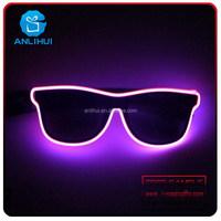 EL Wire Flashing LED Sunglasses