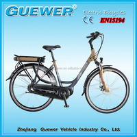 CE and EN15194 700C aluminum alloy city electric bicycle ZW-TDB-108Z-M