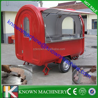 New type cheap price Multifunctional Street Mobile Fry Ice Cream Food Cart