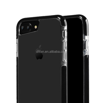 DFIFAN unique products 2017 TPU Bumper Case Cover For Apple iPhone 7 7 plus Hybrid cover case