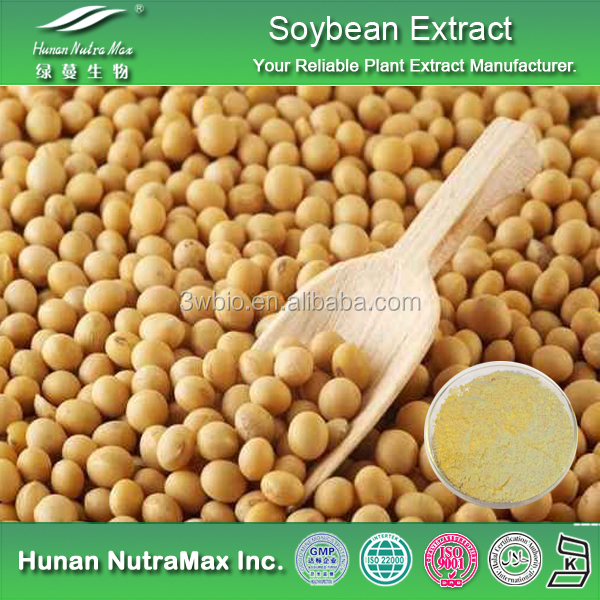 100% Natural Soy Bean Extract ,Soy Bean Powder,40% Isoflavines