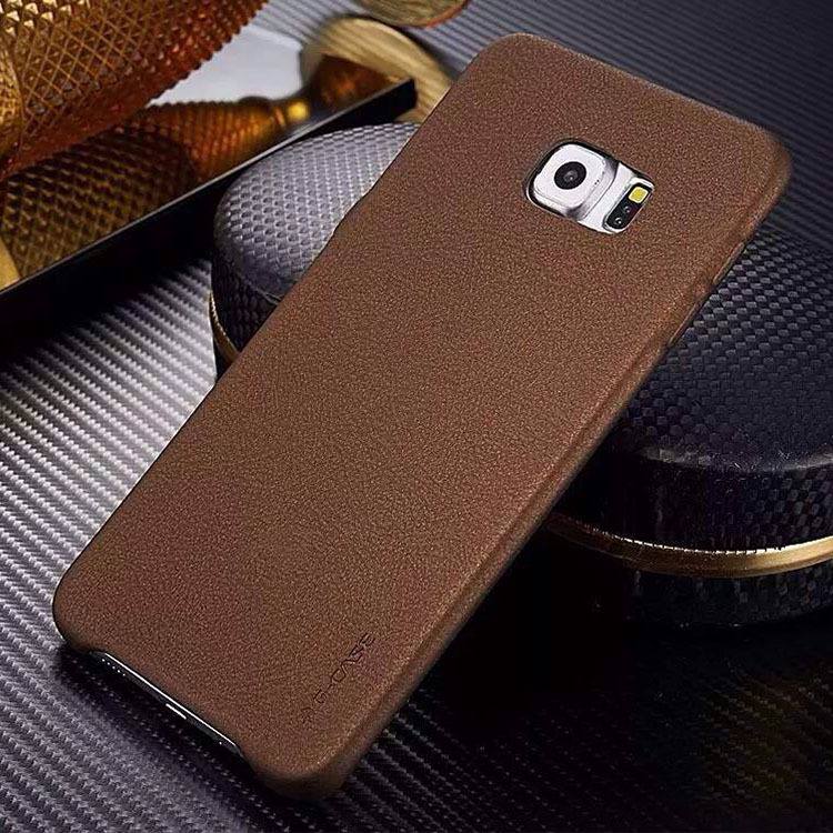 Original G-CASE PU Leather Back Cover Case For Samsung Galaxy S6 Edge Plus