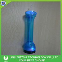 Plastic Flashing LED Yard Glass