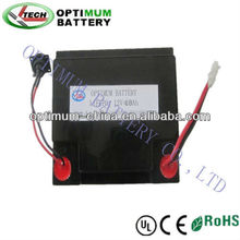 12V 48Ah energy storage lithium iron battery pack with suitable case &BMS