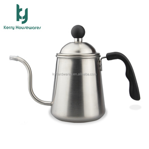 electric stainless steel cordless kettle pour over coffee kettle