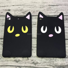 New Design cat case cover for iPad mini, For iPad Air Cute silicone case